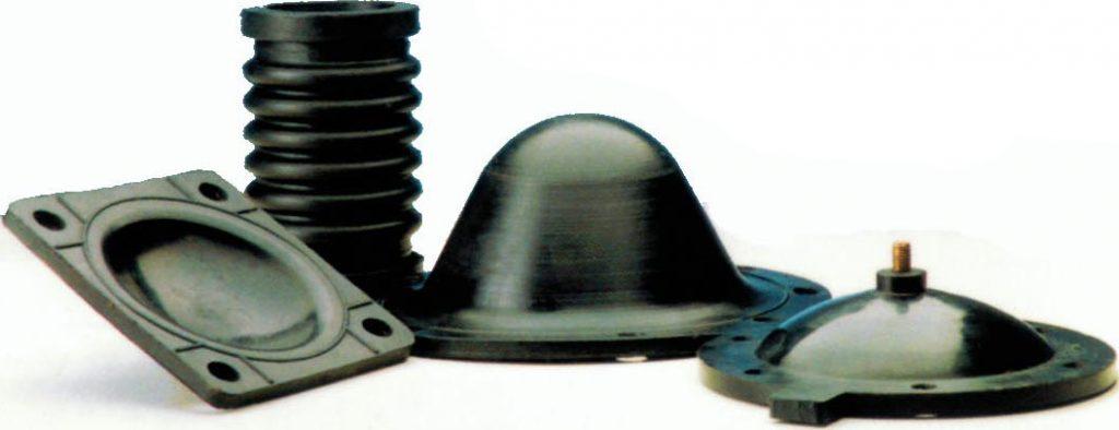 Various rubber technical goods