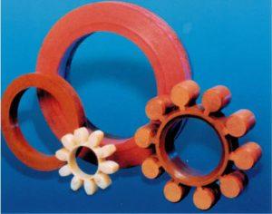Sealing rubber rings
